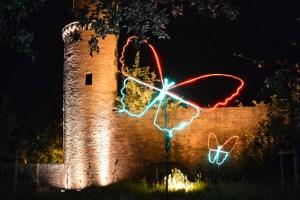 """""""Leuchtende Gärten"""" gibt es am Samstag auf der Landesgartenschau, im historischen Stadtkern von Zülpich und im Park am Wallgraben zu sehen. Bild: Laga"""