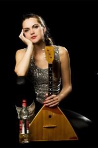 Die russischstämmige Sängerin Lizusha gastiert im Eifeler Musikcafè. Bild: privat