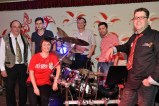 """Die Nettersheimer Band """"Déjà Vu"""" setzte mit ihrer Tanzmusik einen glanzvollen Schlusspunkt unter den gelungenen Jubiläumsabend. (Foto: Reiner Züll)"""
