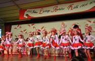 """Bei der Kindersitzung traten allein sieben vereinseigene Tanzformationen der """"Löstige Bröder"""" auf. Foto: Reiner Züll"""