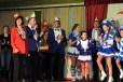 """Die KG """"Gemötliche Dörfer"""" aus Blankenheimerdorf gratulierte den Kallern zum 111-Jährigen. (Foto: Reiner Züll)"""