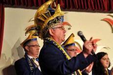 Präsident Helmut Conrads vom KV Blau Gelb Sieberath. (Foto: Reiner Züll)