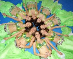 Hildegard Wirtz und ihre Tanzgruppe haben schon an mancher Meisterschaft teilgenommen. Bild: Hildegard Wirtz