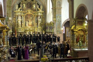 Zum 71. Mal findet im Kloster Steinfeld das Eifeler Musikfestival statt. Bild: Michael Thalken/Eifeler Presse Agentur/epa