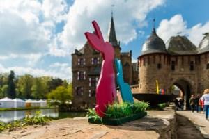 Auf der Burg Satzfey gibt es an den Osterfeiertagen buntes Programm für Groß und Klein  Bild: Mike Göhre