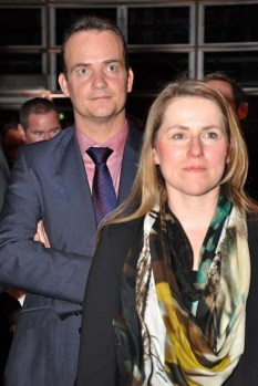DG-Tourismus-Ministerin Weykmans mit dem Ministerpräsidenten der Deutschsprachigen Gemeinschaft Belgierns, Oliver Paasch. Foto: Reiner Züll