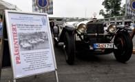 Am Nürburgring zu sehen war auch der Original-Mercedes Benz 680 S Rennsport, auf dem der Rennfahrer Rudolf Carraciola 1927 das Eröffnungsrennen am Nürburgring gewann. Foto: Reiner Züll