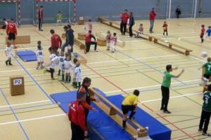 In der Dreifachsporthalle in Schleiden wird Kindern wieder ein großes Sport- und Spielprogramm geboten. Bild: Harry Kunz