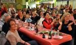 Das Publikum feierte das neue Kinderprinzenpaar. Foto: Reiner Züll