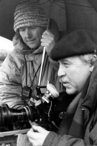Regisseur Dietrich Schubert (links) und Kameramann Rudolf Körösi bei den Dreharbeiten. Bild: Schubert