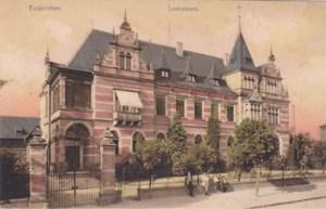 Das ehemalige Landratsamt in Euskirchen. Heute steht an dieser Stelle die Stadtverwaltung./ Bild: Kreisarchiv Euskirchen