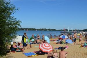 Nach Laboruntersuchungen steht dem Badevergnügen am Wassersportsee in Zülpich jetzt nichts mehr im Wege. Bild: Gartenschaupark Zülpich