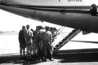 Mit einem Düsenjet der Air France ging es von Ajaccio zurück nach Marseille. Für alle Kaller Lagerteilnehmer war das damals die erste Reise in einem Flugzeug. Repro: Reiner Züll