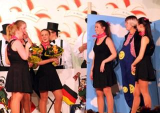 """Eine echte Bereicherung für den Kaller Karnevals ist die neuformierte Showtanzgruppe """"Pink Ladys"""". Foto: Reiner Züll"""