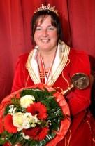 Überraschte sogar ihren Ehemann: Prinzessin Kerstin I. in Kall. Foto: Reiner Züll