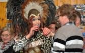 Ging auf Tuchfühlung zu seinen Fans: Rene Schaffrath alias Regina Red im Saal Gier in Kall. Foto. Reiner Züll