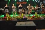 Die Oberkrainer Polka Mädels beim Auftritt iin Hohenau. Foto: Reiner Züll