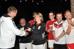 Firmenturnier beim Sportfest des Kaller SC mit Brucker, Papstar, Ene und Rewe. Foto: Reiner Züll