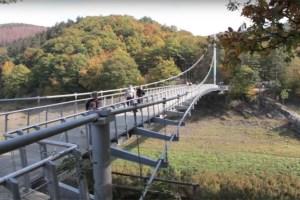 Für die Victor-Neels-Brücke stehen turnusmäßige Kontrollarbeiten an. Bild: Michael Thalken/Eifeler Presse Agentur/epa