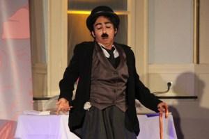 Eine herrliche Chaplin-Nummer bot Kalika Wagner-Gillen. Bild: Michael Thalken/Eifeler Presse Agentur/epa
