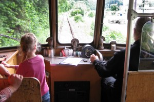 Auch für Kinder ist die Fahrt ein großes Abenteuer. Archivbild: Michael Thalken/Eifeler Presse Agentur/epa