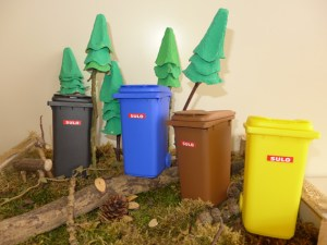 Nur richtig getrennter Abfall kann hochwertig recycelt werden. Symbolbild: Karen Beuke / Kreis Euskirchen