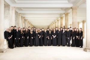 Studenten der Universität Cambridge wollen in der Basilika Kloster Steinfeld singen. Foto: Trinity College Cambridge