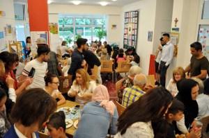 Im Café International wird nun ein neues Projekt verfolgt. Bild: Carsten Düppengießer