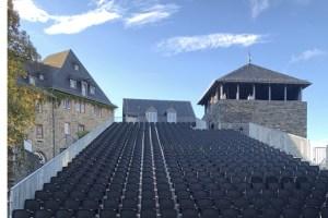 """Die Burg Monschau ist wieder Kulisse für das """"Monschau Festival. Bild: Veranstalter"""