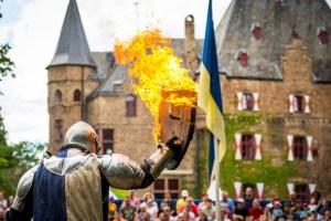 Die Ritterfestspiele gehen in die 38. Runde. Bild:Mike Göhre/Burg Satzvey