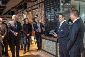 Auch die Gastronomie im Bismarck Quartier Düren bietet hohes Niveau in passendem Ambiente. Bild: Tameer Gunnar Eden/Eifeler Presse Agentur/epa