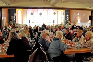 180 Ehrenamtliche standen im Mittelpunkt der Caritasfeier. Bild: Peter Müller-Gewiss