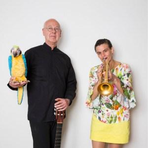 Susanne Riemer und Wilhelm Geschwind werden in Köln gleich sechs PhilharmonieVeedels-Konzerte für Kinder geben. Für den Sommer ist eine Tournee auf Falträdern geplant. Bild: Christina Czybik