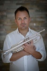 Trompeter Oliver Lakota einer der festen Musikgrößen mit Werken für Trompete und Orgel in der evangelischen Kirche Gemünd. Bild: Angelika Warmuth