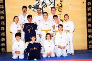 Der Taekwondo Club Schleiden bietet regelmäßige Gürtelprüfungen an. Foto: Taekwondo Club Schleiden