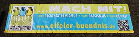 Unter anderem über die aktuelle gesellschaftspolitische Situation im Kreis Euskirchen soll es beim nächsten Treffen des Eifeler Bündnis gegen Rechtsextremismus, Rassismus und Gewalt gehen. Foto: privat