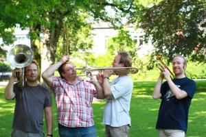Die Juliacum Brassers gastieren im Kurpark Gemünd. Bild: Veranstalter