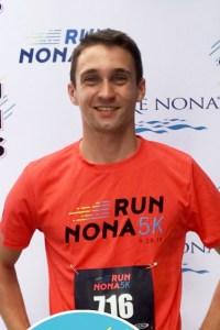 """Timm Ody nahm erfolgreich am """"5k Nona Run"""" in Florida teil. Bild: Privat"""