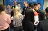 Große Nachfrage herrschte am Stand der Polizei. Bild: Michael Thalken/Eifeler Presse Agentur/epa