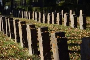 Die Kriegsgräberstätte in Euskirchen. Bild: Heike Pütz