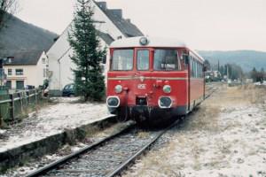 Der Verein BuBI bietet Nikolausfahrten und Winterfrühstücksfahrt auf der Oleftalbahn an. Bild: Marita Rauchberger