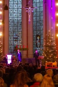 Das von mehreren Sponsoren geförderte Konzert in der Euskirchener Herz-Jesu-Kirche war für die Besucher kostenlos. Bild: Tameer Gunnar Eden/Eifeler Presse Agentur/epa