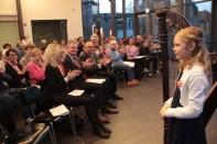 Viel Applaus für Hanna Lara Kessler. Bild: Michael Thalken/Eifeler Presse Agentur/epa