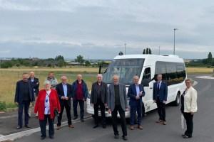 Mit dem Kleinbus werden gleich 13 neue Haltestellen erschlossen. Bild: Wolfgang Andres/Kreis Euskirchen