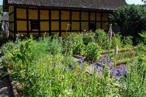 Die erste Führung unter dem neuen Konzept widmet sich Gärten von Baugruppe Eifel und Marktplatz Rheinland. Foto: : Hans-Theo Gerhards/LVR