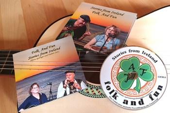 """Die neue CD der Band """"Folk And Fun"""" aus Bad Münstereifel entführt musikalisch in die Welt Irlands. Bild: Tameer Gunnar Eden/Eifeler Presse Agentur/epa"""