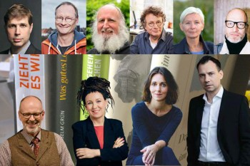 Stars der Literaturszene versammelt Dr. Josef Zierden wieder beim Eifel Literatur Festival. Montage: epa
