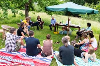 Erstmals trafen sich die Mitglieder des Kollektivs Wolkenborn live zu einem Gedankenaustausch. Bild: Kollektiv Wolkenborn
