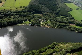 Hauptaufgabe des Kronenburger Sees ist der Hochwasserschutz. Foto: Gemeinde Dahlem
