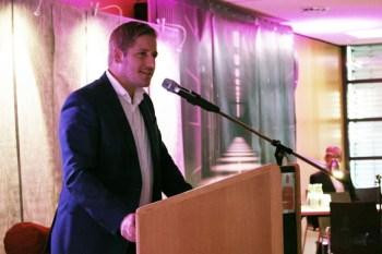 Landrat Markus Ramers bedankte sich bei den Sponsoren und dem Veranstaltungs-Team. Bild: Michael Thalken/Eifeler Presse Agentur/epa